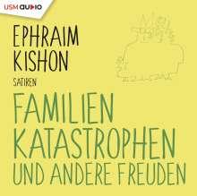 Ephraim Kishon: Familienkatastrophen und andere Freuden, CD