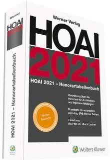 HOAI 2021 - Honorartabellenbuch, Buch