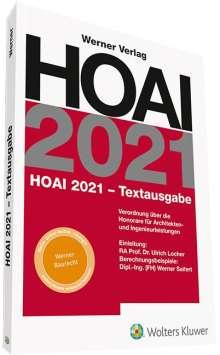 HOAI 2021 - Textausgabe, Buch