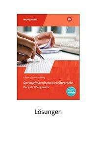 Margit Lambrich-Duvernoy: Der kaufmännische Schriftverkehr. Lösungen (auch für Schüler), Buch