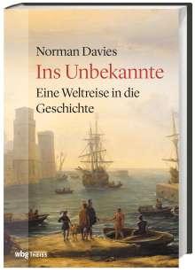 Norman Davies: Ins Unbekannte, Buch