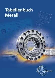 Roland Gomeringer: Tabellenbuch Metall, Buch