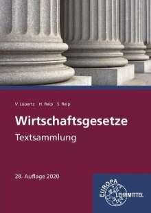 Viktor Lüpertz: Wirtschaftsgesetze, Buch