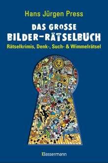 Hans Jürgen Press: Das große Bilder-Rätselbuch, Buch