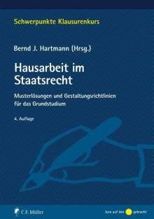 Tristan Barczak: Hausarbeit im Staatsrecht, Buch