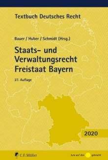 Staats- und Verwaltungsrecht Freistaat Bayern, Buch