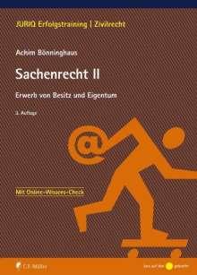 Achim Bönninghaus: Sachenrecht II, Buch