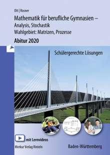 Roland Ott: Mathematik für berufliche Gymnasien - nichttechnische Richtung, Abitur 2015 Baden-Württemberg, Buch