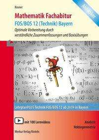 Stefan Rosner: Mathematik Fachabitur FOS/BOS 12 (Technik) Bayern, Buch