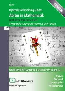 Stefan Rosner: Optimale Vorbereitung auf das Abitur in Mathematik nach dem Kerncurriculum. Niedersachsen, Buch