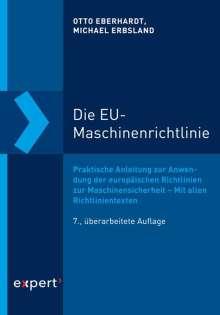 Otto Eberhardt: Die EU-Maschinenrichtlinie, Buch
