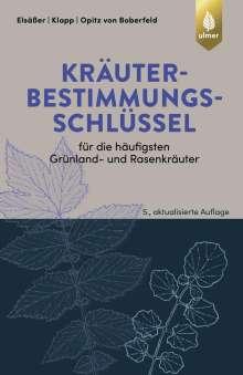 Martin Elsäßer: Kräuterbestimmungsschlüssel für die häufigsten Grünland- und Rasenkräuter, Buch