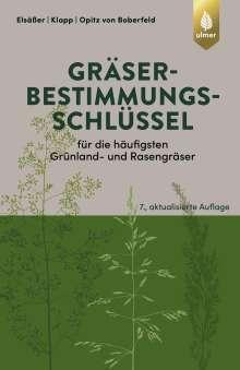 Martin Elsäßer: Gräserbestimmungsschlüssel für die häufigsten Grünland- und Rasengräser, Buch