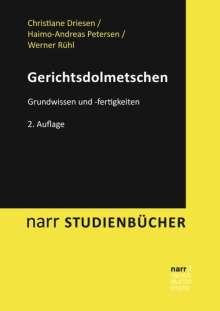 Christiane Driesen: Gerichtsdolmetschen, Buch