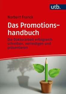 Norbert Franck: Das Promotionshandbuch, Buch
