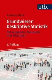 Andreas Behr: Grundwissen Deskriptive Statistik, Buch