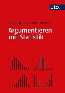 Jörg Blasius: Argumentieren mit Statistik, Buch