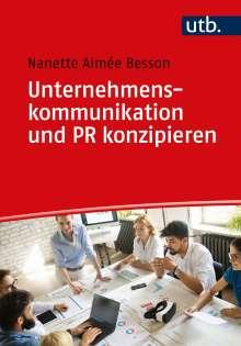 Nanette Besson: Unternehmenskommunikation und PR konzipieren, Buch