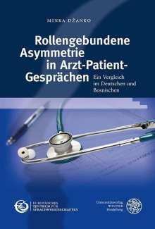 Minka Dzanko: Rollengebundene Asymmetrie in Arzt-Patient-Gesprächen, Buch