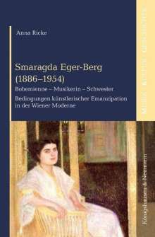 Anna Ricke: Smaragda Eger-Berg (1886-1954), Buch