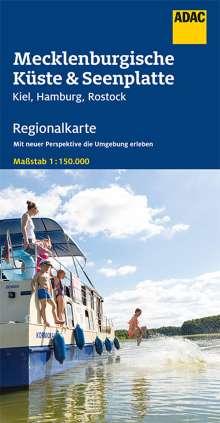 ADAC Regionalkarte Deutschland Blatt 2 Mecklenburgische Küste und Seenplatte 1 : 150 000, Diverse
