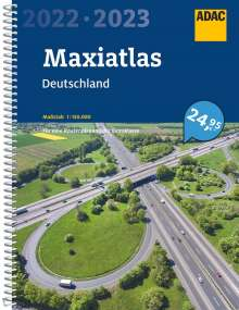 ADAC MaxiAtlas Deutschland 2022/2023 1:150 000, Buch