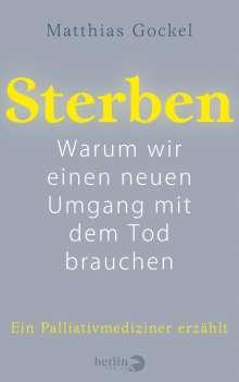 Matthias Gockel: Sterben, Buch