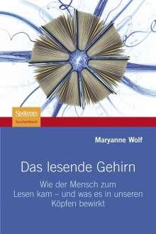 Maryanne Wolf: Das lesende Gehirn, Buch