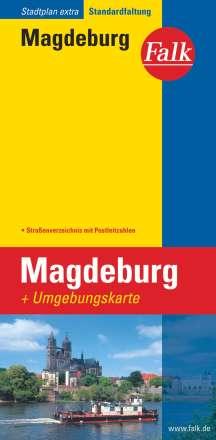 Falk Stadtplan Extra Standardfaltung Magdeburg 1 : 20 000, Diverse