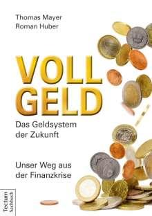 Thomas Mayer: Vollgeld, Buch