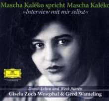Mascha Kaleko - Interview mit mir selbst(2CDs), 2 CDs