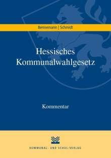 Gerhard Bennemann: Hessisches Kommunalwahlgesetz, Buch