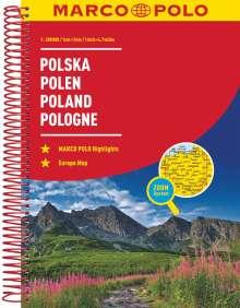 MARCO POLO Reiseatlas Polen 1:300 000, Buch