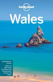Peter Dragicevich: Lonely Planet Reiseführer Wales, Buch