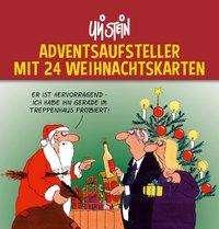 Uli Stein: Uli Stein Adventsaufsteller mit 24 Weihnachtskarten, Diverse
