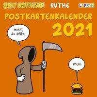 Ralph Ruthe: Shit happens! Postkartenkalender 2021, Kalender