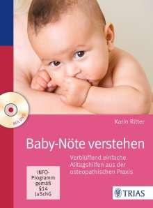 Karin Ritter: Baby-Nöte verstehen, m. DVD, Buch