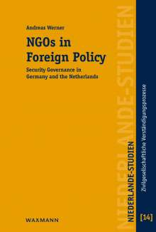 Andreas Werner: NGOs in Foreign Policy, Buch