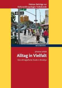 Johanne Lefeldt: Alltag in Vielfalt, Buch
