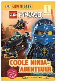 Beth Davies: SUPERLESER! LEGO® NINJAGO® Coole Ninja-Abenteuer, Buch