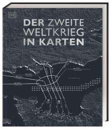 Simon Adams: Der Zweite Weltkrieg in Karten, Buch