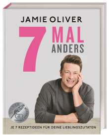 Jamie Oliver: 7 mal anders, Buch