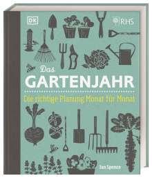 Ian Spence: Das Gartenjahr, Buch
