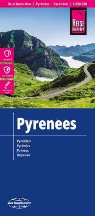 Reise Know-How Landkarte Pyrenäen 1 : 250 000, Buch