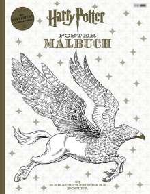 Harry Potter Postermalbuch, Buch