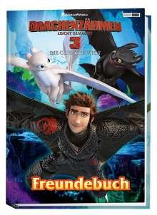 Panini: Drachenzähmen leicht gemacht 3: Die geheime Welt: Freundebuch, Buch