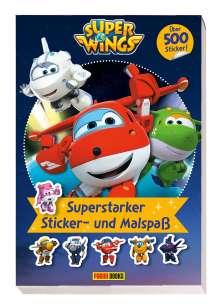Panini: Super Wings: Superstarker Sticker- und Malspaß, Buch