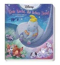 Lisa Marsoli: Disney: Gute Nacht, ihr lieben Tiere! - Das kuschelige Fühlbuch zum Einschlafen, Buch