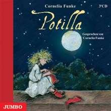 Cornelia Funke: Potilla. 3 CDs, CD