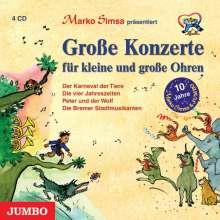 Marko Simsa: Große Konzerte für kleine Ohren, 4 CDs